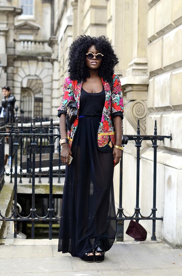 Streetstyle: Неделя моды в Лондоне, часть 2. Изображение № 9.
