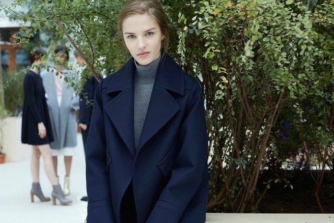 Объемные пальто и клетка в осеннем лукбуке Zara. Изображение № 21.