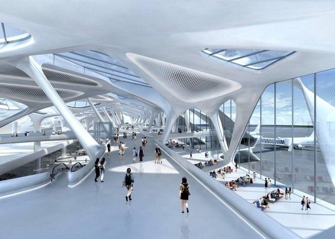 Заха Хадид спроектирует новый лондонский аэропорт . Изображение № 1.