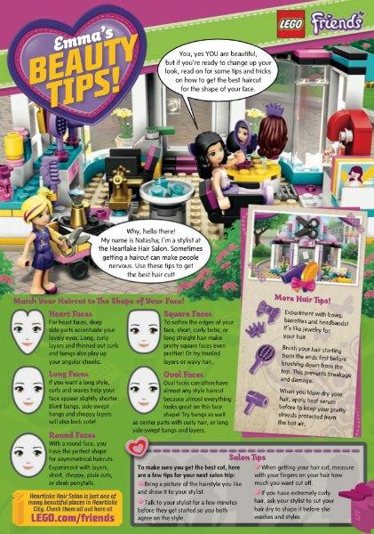LEGO раскритиковали  за советы о внешности  для маленьких девочек. Изображение № 1.