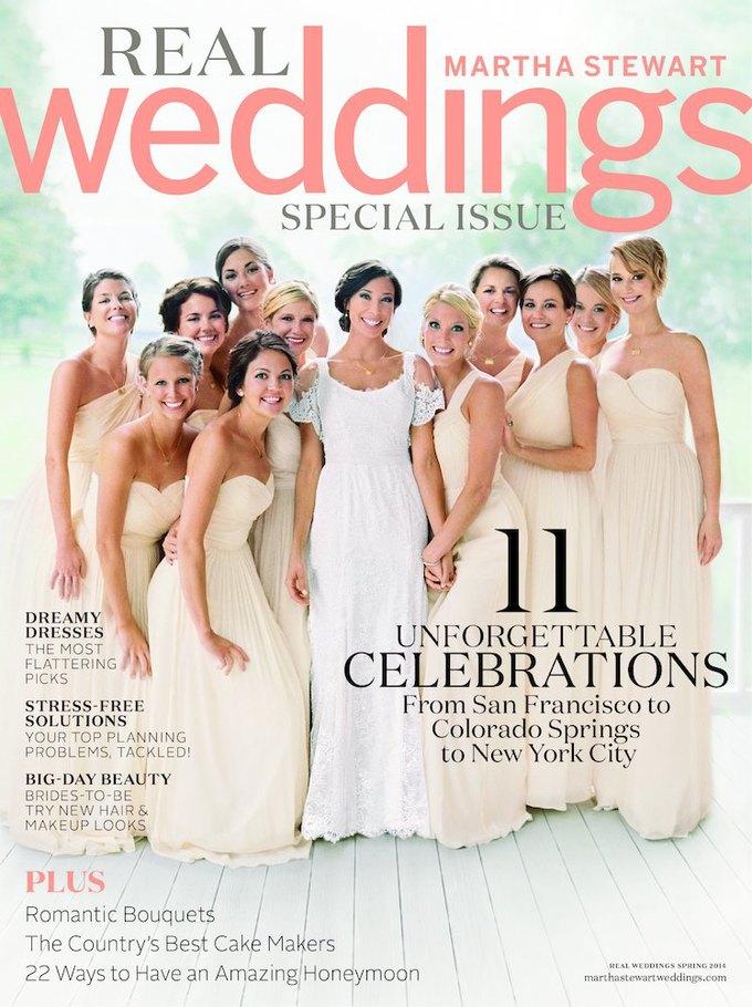 Дженнифер Лоуренс на обложке свадебного журнала — с краю. Изображение № 1.
