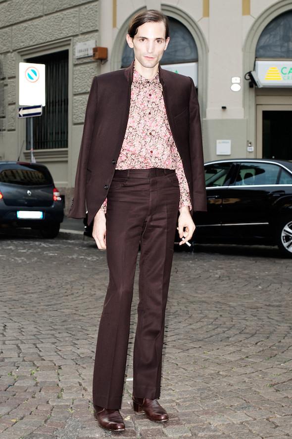 Стрит-стайл: Неделя мужской моды в Милане. Изображение № 19.