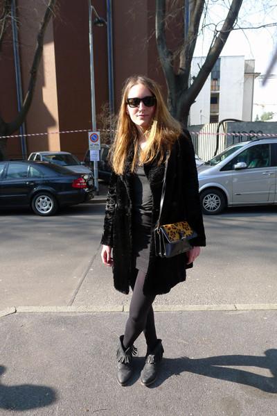 Изображение 24. Milan Fashion Week: день третий – луки.. Изображение № 7.