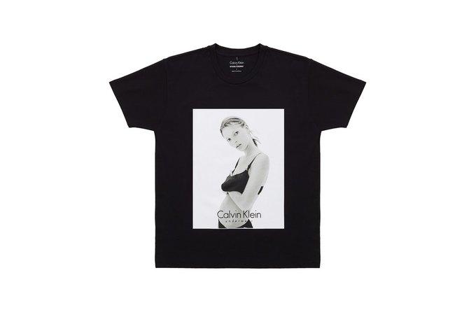 Opening Ceremony и Calvin Klein выпустили футболки  с Кейт Мосс. Изображение № 2.