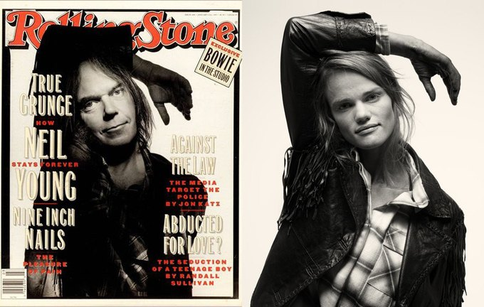 Нил Янг, выпуск Rolling Stone от 21 января 1993 года. Изображение № 4.