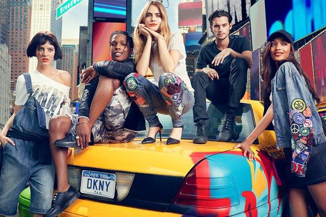 A$AP Rocky и Кара Делевинь в рекламной кампании DKNY. Изображение № 4.