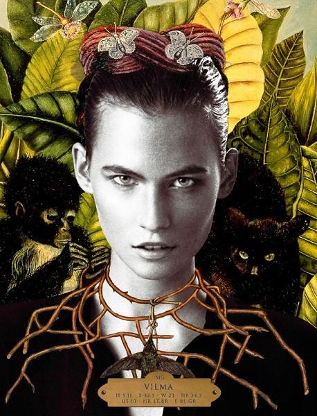 Композитки пяти модельных агентств к Нью-Йоркской неделе моды. Изображение № 80.