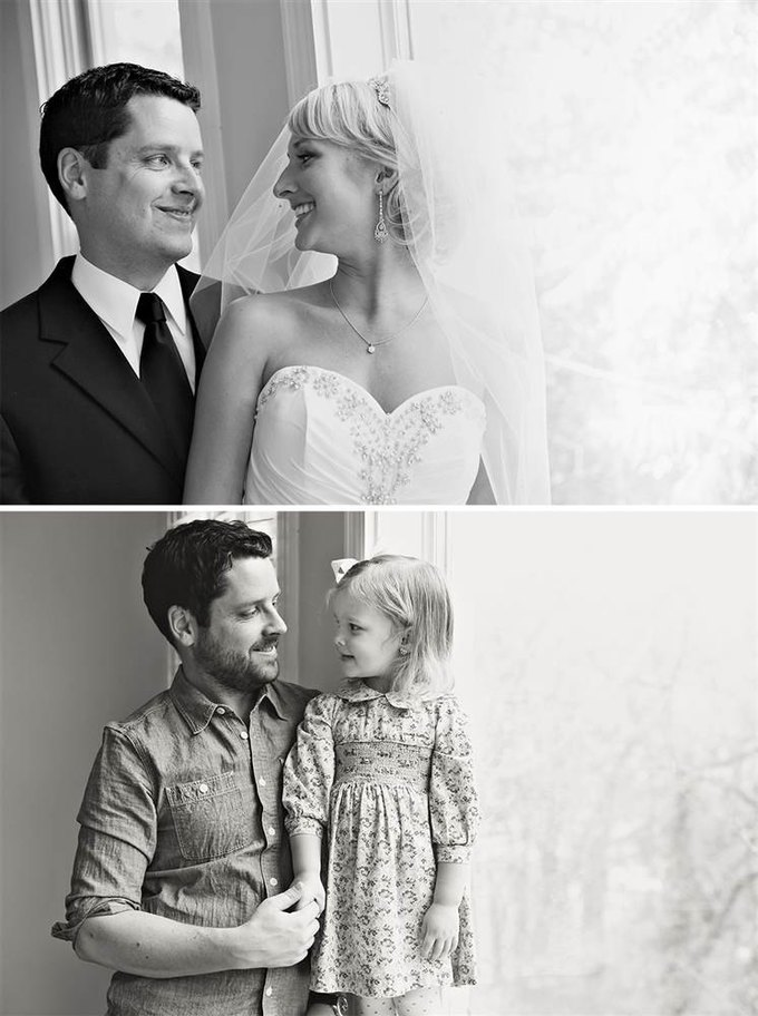 Отец и дочь воссоздали фото с умершей мамой. Изображение № 7.