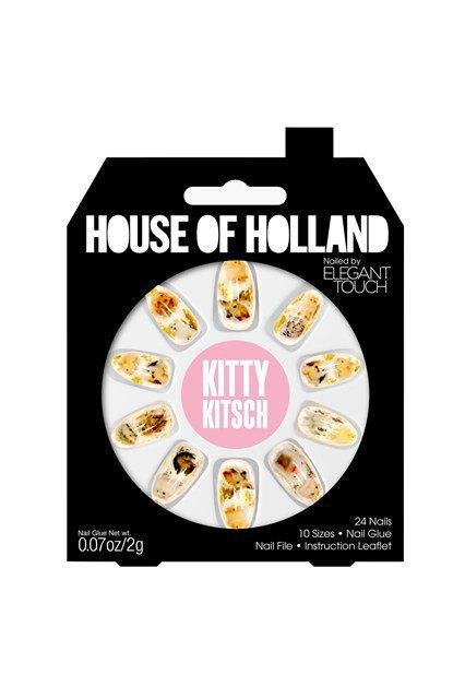 House of Holland и Elegant Touch сделали классные накладные ногти. Изображение № 5.