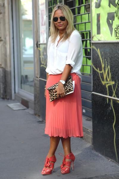 Milan Fashion Week: Уличный стиль, день 2. Изображение № 1.