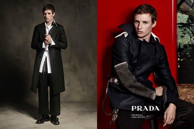 Эдди Редмэйн стал новым лицом Prada. Изображение № 3.