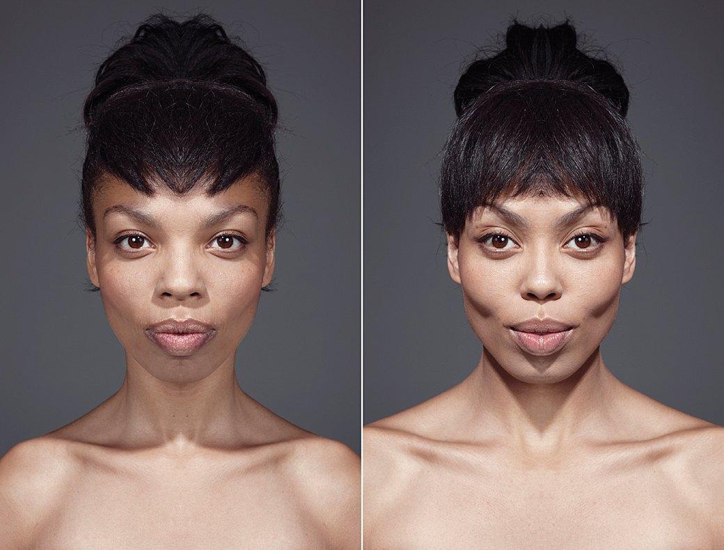 «Симметричные портреты»:  Два человека в одном. Изображение № 6.