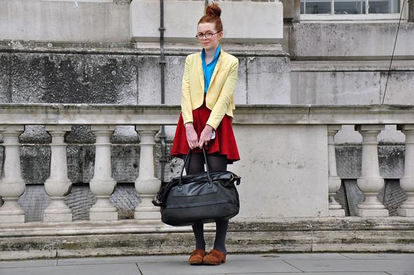 London Fashion Week: Уличный стиль, часть 2. Изображение № 12.