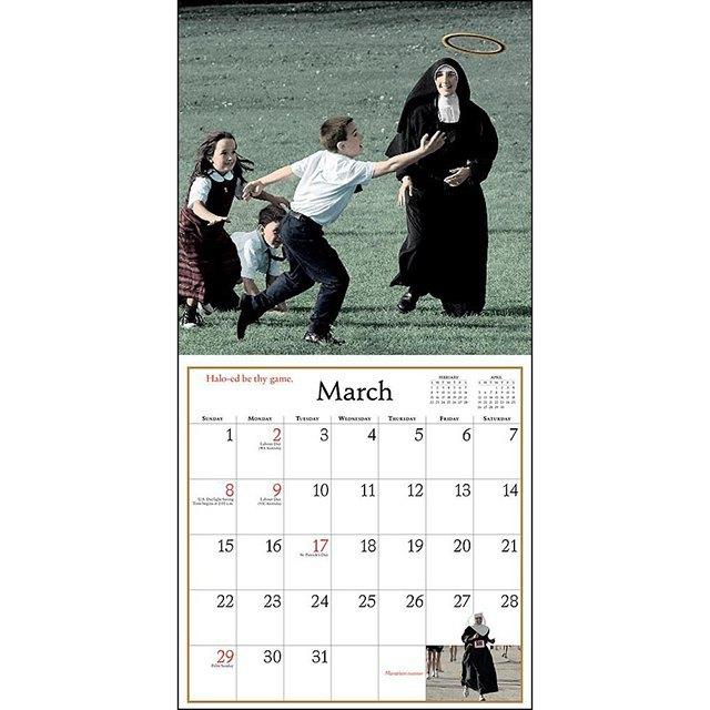 Самые абсурдные  календари на 2015 год. Изображение № 20.