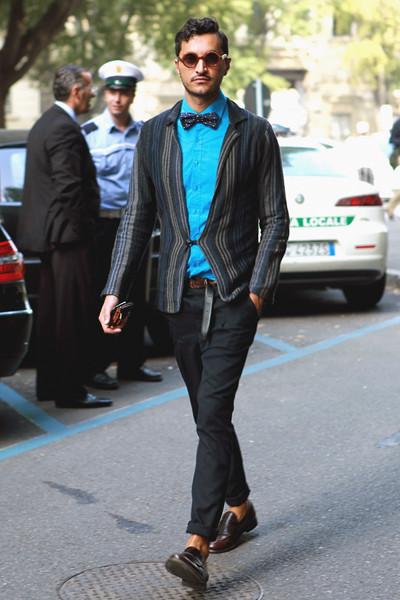Milan Fashion Week: Уличный стиль, день 4. Изображение № 3.