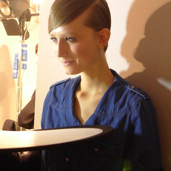 Изображение 35. Milan Fashion Week: бэкстейдж Alberta Ferretti.. Изображение № 19.