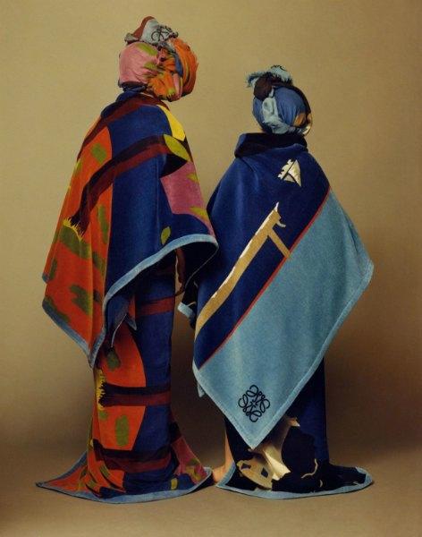 Loewe создали коллекцию  с художником по тканям Джоном Алленом. Изображение № 2.