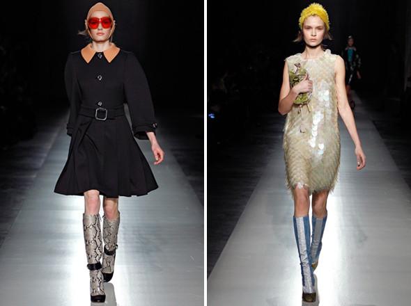 Изображение 7. Показы на Milan Fashion Week FW 2011: день 2.. Изображение № 10.