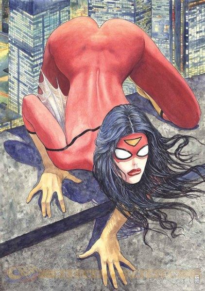 Marvel критикуют за эксплуатацию женской сексуальности. Изображение № 1.