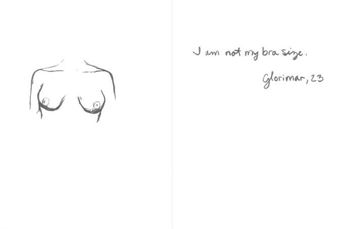 «Я — не мой размер груди», — Глоримар, 23. Изображение № 1.