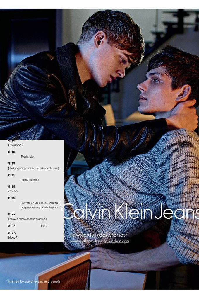 Calvin Klein посвятили рекламу онлайн-знакомствам и секстингу. Изображение № 3.
