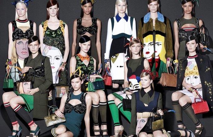 Для новой кампании Prada снялись 18 моделей. Изображение № 2.