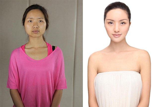 Стандарты красоты: китаянки после пластики. Изображение № 1.