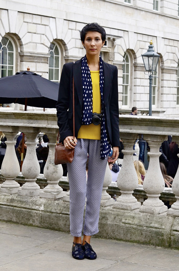Streetstyle: Неделя моды в Лондоне, часть 2. Изображение № 16.