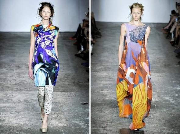 Показы на London Fashion Week SS 2012: День 1. Изображение № 20.