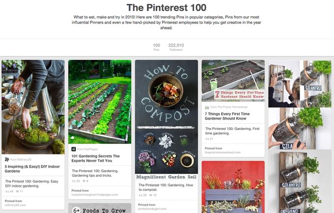 Pinterest назвали 100 трендов будущего года. Изображение № 1.
