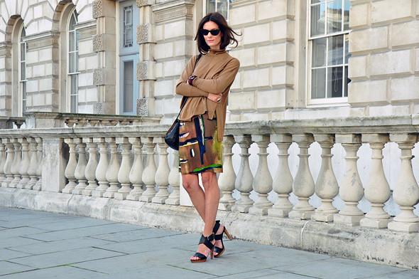 London Fashion Week: Уличный стиль, часть 3. Изображение № 1.