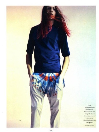 Новые лица: Эрик Андерссон, модель. Изображение № 24.