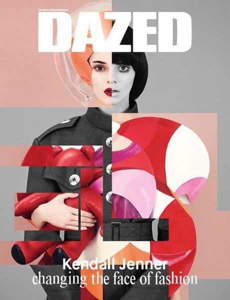 Кендалл Дженнер «меняет лицо моды» на обложке Dazed & Confused. Изображение № 3.