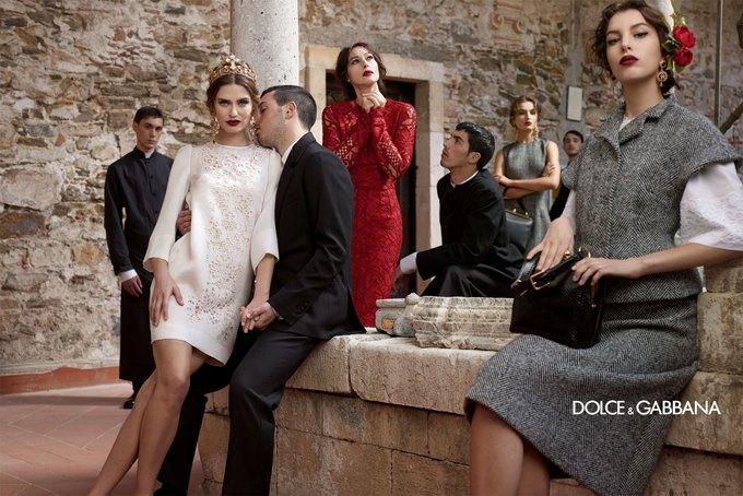 Dolce & Gabbana FW 2013 . Изображение № 3.