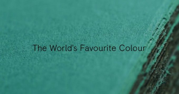 Объявлен любимый цвет человечества. Изображение № 1.