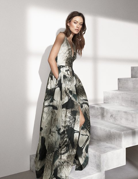 Опубликована рекламная кампания H&M Conscious Exclusive с Оливией Уайлд. Изображение № 2.