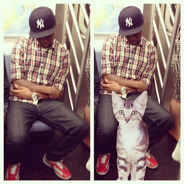 Открытие века: Почему мужчины занимают два места в метро. Изображение № 4.