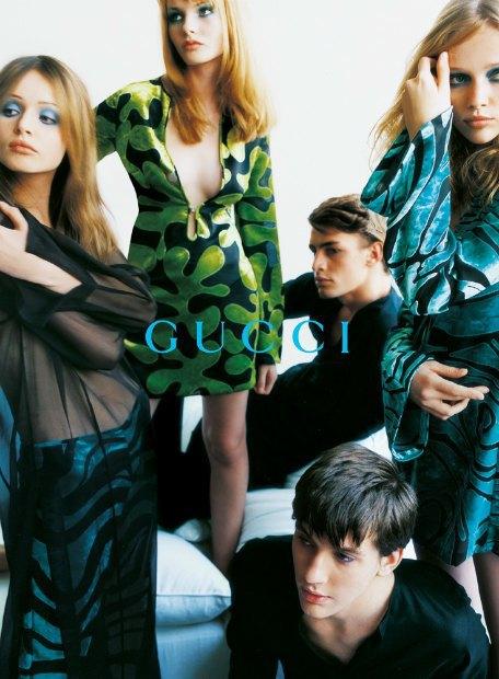 Рекламная кампания Gucci весна-лето — 1996. Изображение № 8.