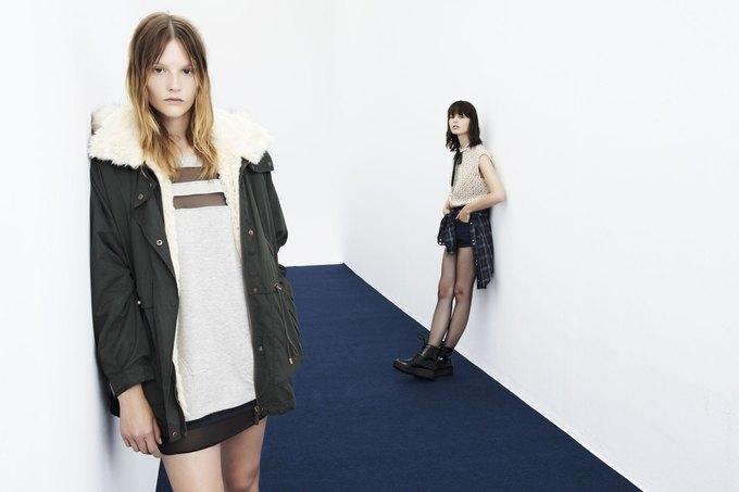 Леопардовые шубы и платья-сорочки в новой коллекции Zara. Изображение № 14.