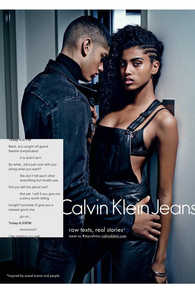 Calvin Klein посвятили рекламу онлайн-знакомствам и секстингу. Изображение № 5.