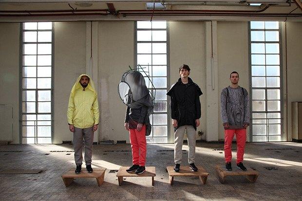Дизайнер Камилла Кунц:  Мужская одежда, силикон  и мраморный принт. Изображение № 6.