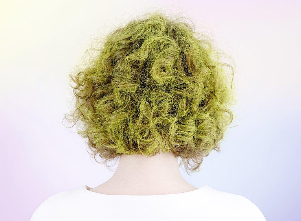 Инструкция: Цветные волосы быстро и ненадолго. Изображение № 3.