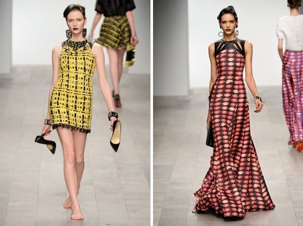 Показы на London Fashion Week AW 2011: день 4. Изображение № 6.