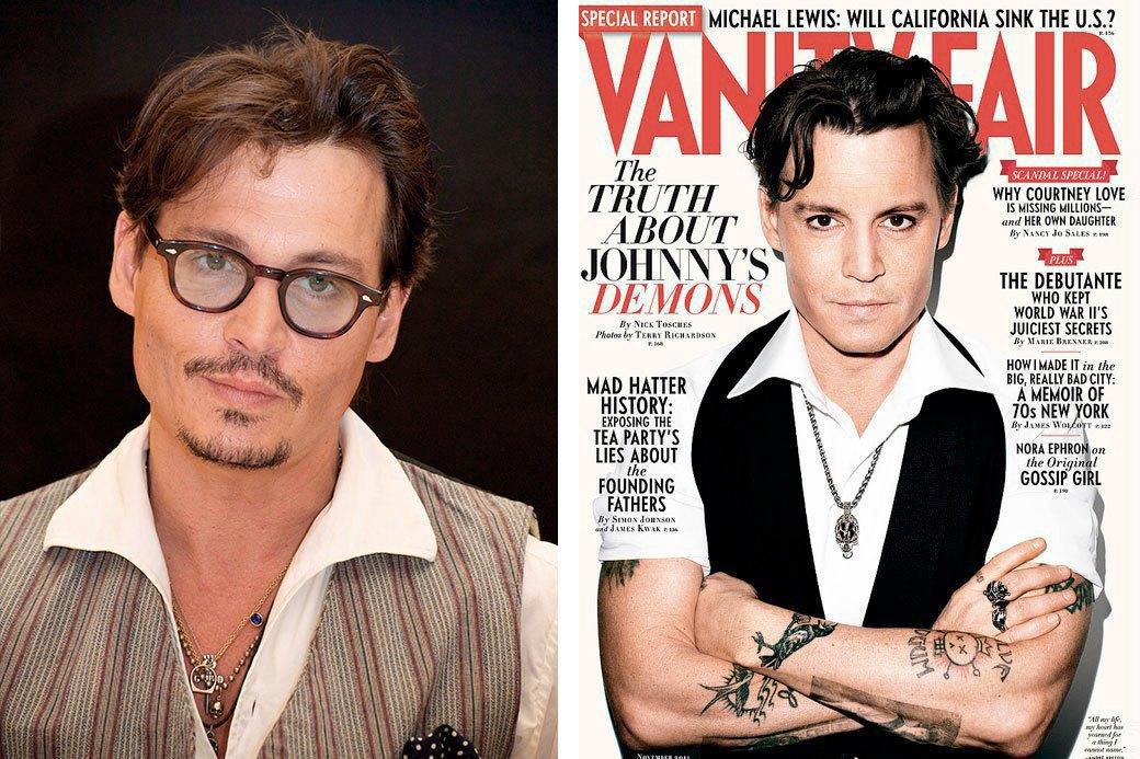 Нереально красивые: Знаменитые мужчины  до и после фотошопа. Изображение № 4.