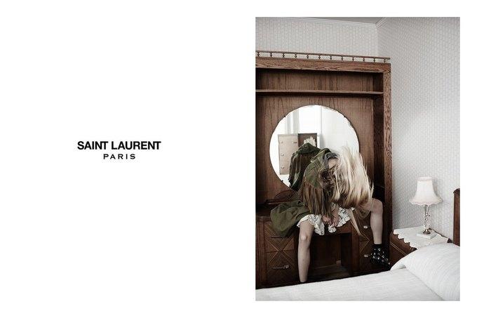 Звезда «Любви» Гаспара Ноэ и сын Килмера снялись в рекламе Saint Laurent. Изображение № 1.