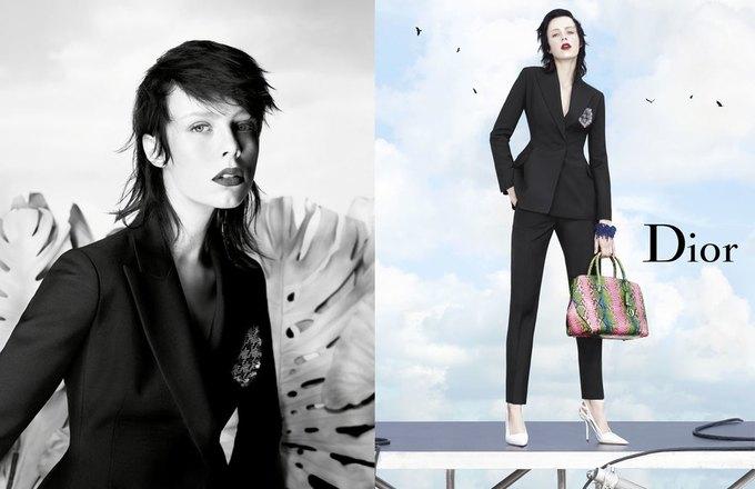 Стелла Теннант в весенне-летней кампании Dior. Изображение № 3.