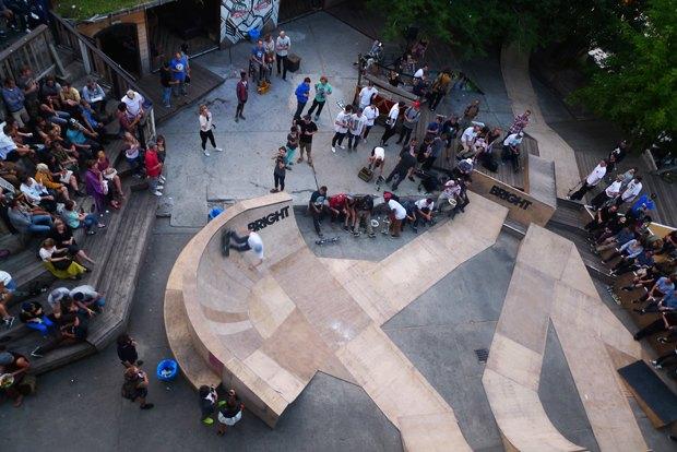 Бар, ресторан, скейт-парк для «своих» на месте заброшенной фабрики — Kater . Изображение № 8.