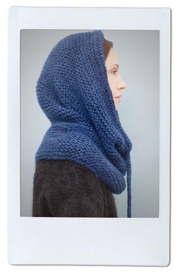 Теплые шерстяные свитеры, шапки и платья Knitbrary. Изображение № 7.