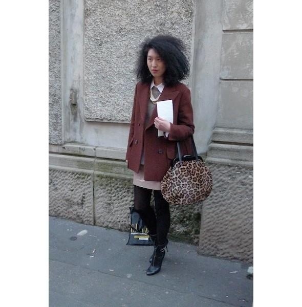 Изображение 4. Milan Fashion Week: день второй — луки.. Изображение № 10.