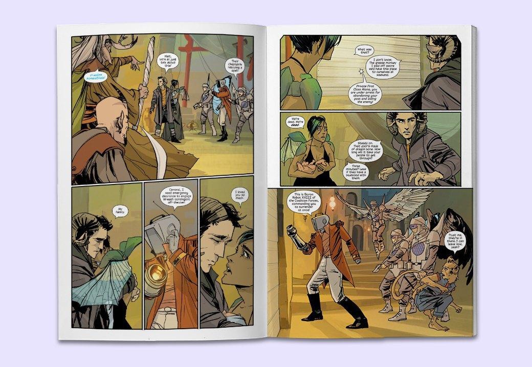 10 комиксов, по которым нужно срочно снять сериал. Изображение № 8.